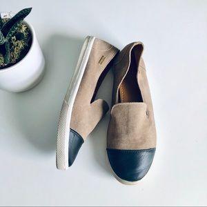 Anthro Kaanas Cameroon Suede Cap Toe Sneakers
